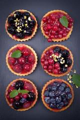 Kleine Obstkuchen