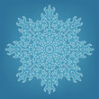 Decorative Christmas snowflake