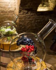 arômes de fruits rouge