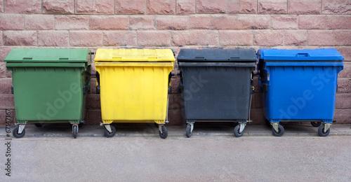 Leinwanddruck Bild Recycling in Deutschland