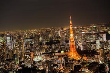 スカイデッキより東京タワー方面