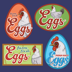 Eggs labels