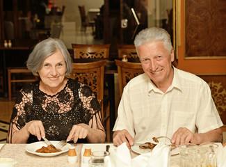 couple having a dinner