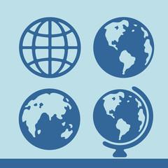 Planet symbol set