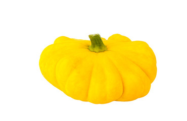 Squash vegetable isolated on white background