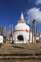 Anuradhapura citée médiéval Sri lanka 2014