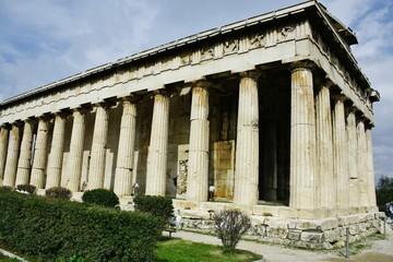 古代アゴラ へファイストス神殿