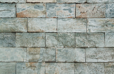 abstract stone wall detail