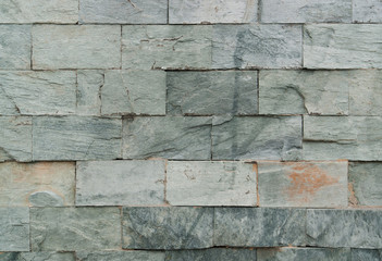 old stone wall detail