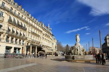 モンペリエの広場