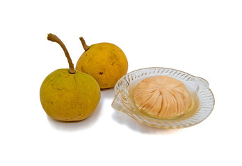 santol and santol preserved in sirup