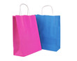 Shopping bags isolated on white background