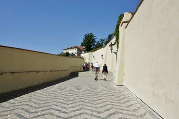プラハ城 坂道