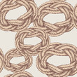 pattern of twisted rope