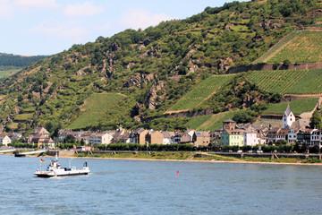 Rhein bei Kaub - Bild 1