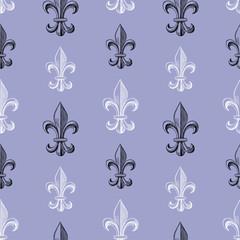 pattern of  Fleur De Lys