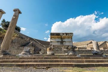 the amphitheater of Pergamos, southwest Turkey