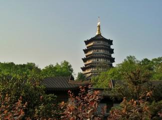 中国 西湖 雷峰塔