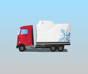 Vehicle - Refrigerator Truck