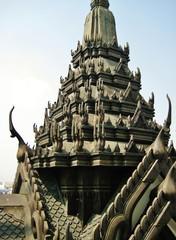 バンコク ラチャナダー寺 部分拡大