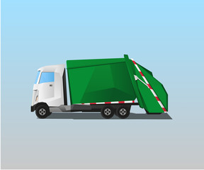 Vehicle - Garbage Truck