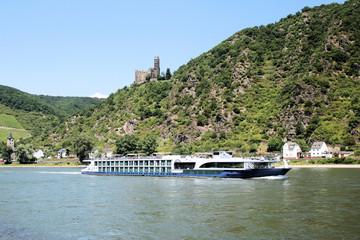 Rhein bei Sankt Goarshausen - Bild 1