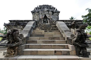 Hindu temple. Java island, Indonesia