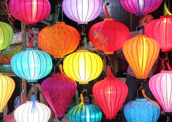Vietnamese Lanterns Lights