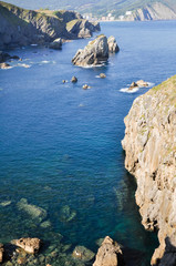 Coast of Biscay near San Juan de Gaztelugatxe, Basque Country