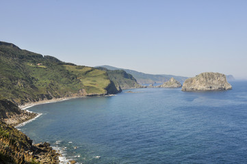 San Juan de Gaztelugatxe from Machichaco Cape, Basque Country
