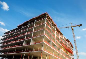Baustelle in Berlin