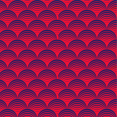 oriental wave pattern background