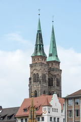 Towers of St. Sebald Church