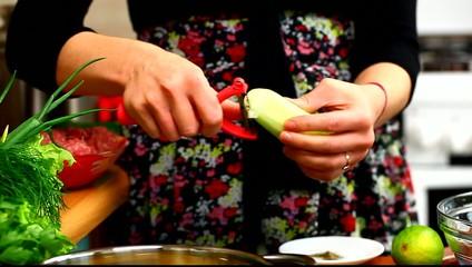 Woman preparing food episode 4