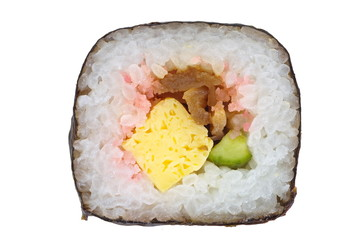Japanese healthy food sushi roll , Maki sushi