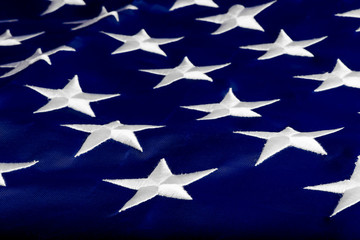 star American national flag closeup