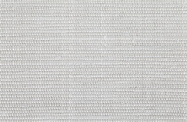 Close - up White fabric texture