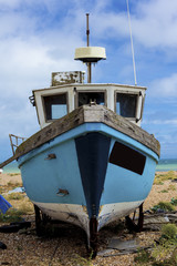 Old fishing boat.