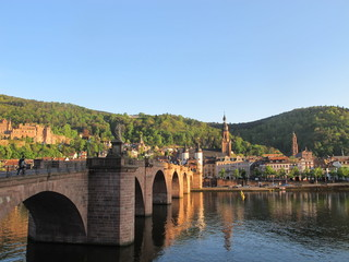 Historic city of Heidelberg. Germany