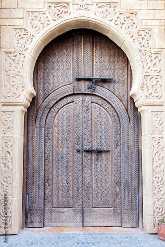 Arabian door - 67160589