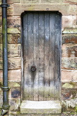 Rustic worn Medieval Door