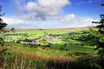 The Village of Sabden, Lancashire