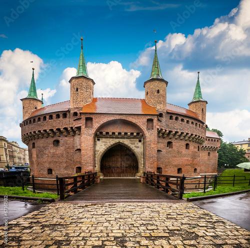Zdjęcia na płótnie, fototapety na wymiar, obrazy na ścianę : Krakow - Poland's historic center, a city with ancient