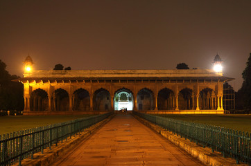 Diwan-e-Am of red fort, Delhi