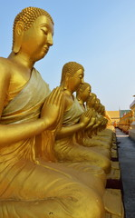 Buddha Day of the full moon of the third lunar month monument