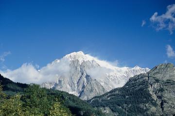 catena monte bianco alpi ghiacciaio montagna piu alta in europa