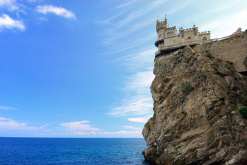 Swallow's Nest. Crimea. Ukraine