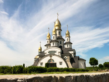 The church of St. Mykolay in Buky village, Kiev region, Ukraine
