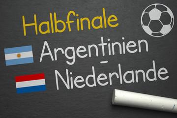 Argentinien - Niederlande
