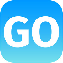 blue go icon